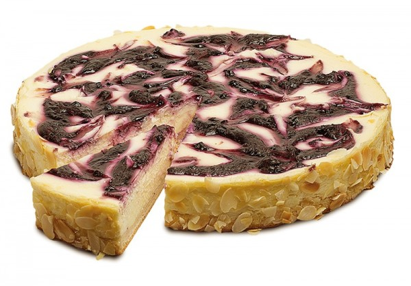 Quark-Heidelbeer-Kuchen