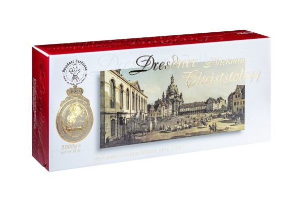 Dresdner Christstollen® | 1000g gift box Canaletto