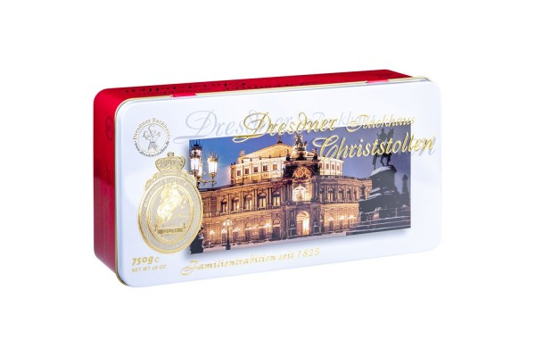 Dresdner Christstollen® | 750g Box Semperoper
