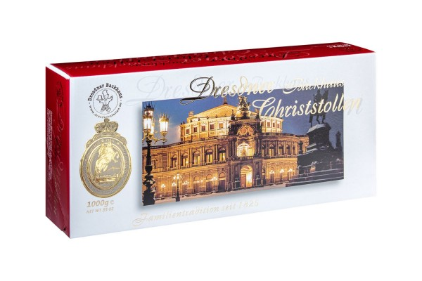 Dresdner Christstollen® | 1000g gift box Semperoper