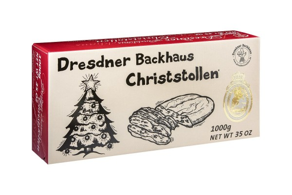 Dresdner Christstollen® | 1000g Karton Comic