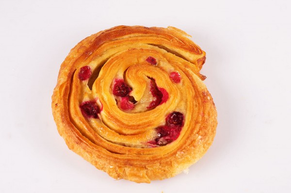 Marzipan-Cranberry-Schnecke Stück
