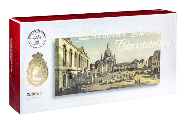 Dresdner Christstollen® | 2000g Carton Canaletto